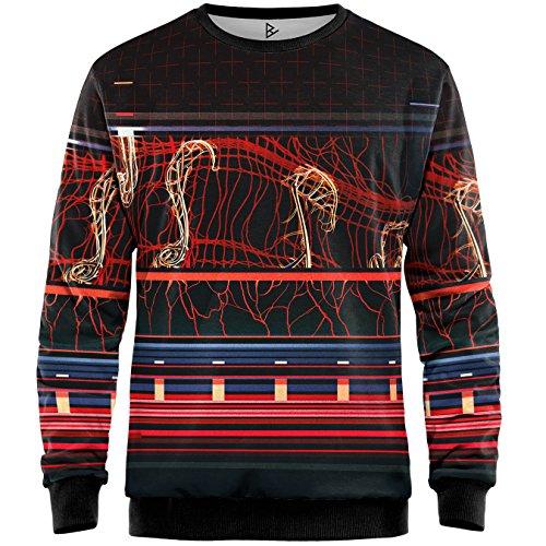 Blowhammer - Sweatshirt Herren - Glowing Core SWT