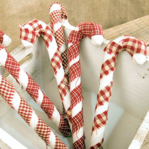 Primitive Christmas Candy Cane - 8