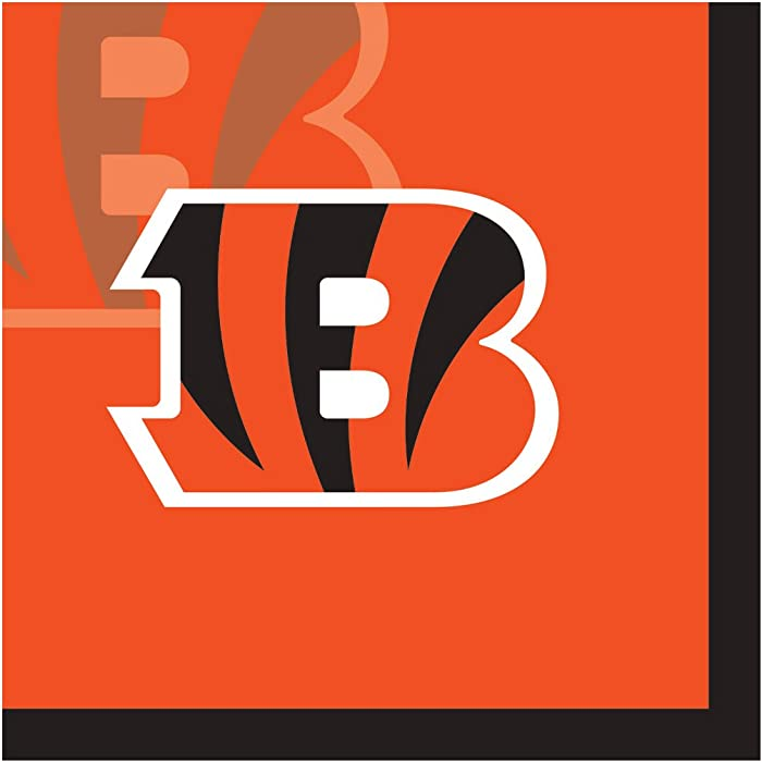 Top 9 Cincinnati Bengals Beverage Napkins