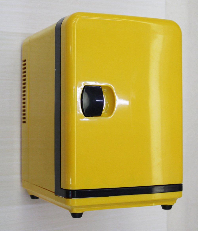 YIWANGO Car Piccolo Frigorifero Freddo E Caldo Casa Auto A Duplice Uso Piccolo Dormitorio Casa Mini Refrigerazione Di Riscaldamento, 5L