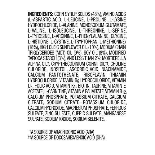 PurAmino Hypoallergenic Infant & Toddler Formula - Amino Acid based for Severe Food Allergies - Powder Can, 14.1 oz (Pack of 4) by PurAmino (Image #2)
