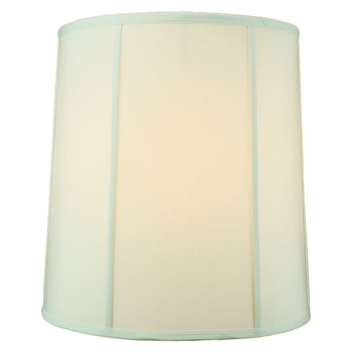 HomeConcept 141617DRES Egg Shell Shantung Drum Lampshade with Brass Spider Fitter by Home Concept, 14'' x 16'' x 17'' by HomeConcept (Image #2)