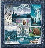 Aurora Ridge Quilt Kit by McKenna Ryan, Laser-cut and Pre-fused Applique