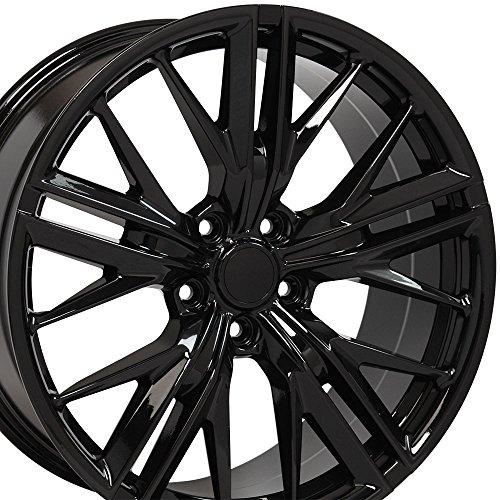 OE Wheels 20 Inch Fits Chevy Camaro ZL1 Style CV25 Gloss Black 20x9.5 Rim