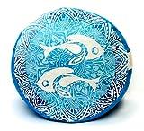 Twin Fish Zafu Meditation Cushion / Yoga Pillow: Relax and get into your zen (12.5