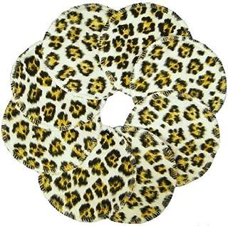 product image for NuAngel Designer Washable Nursing Pads 100% Cotton - Leopard - Made in U.S.A.