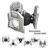 LED Garage Lighting, 6000 Lumens Deformable