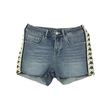 d0b37512 Kappa Women's Shorts Blue Denim: Amazon.co.uk: Clothing