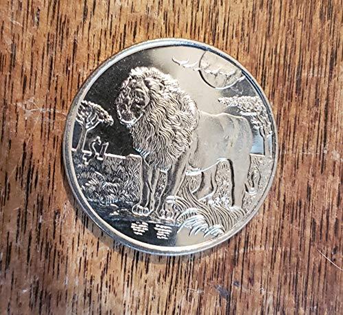 2006 SL Sierra Leone Lion Dollar Coin $1 Brilliant Uncirculated (Lion Dollar Coin)