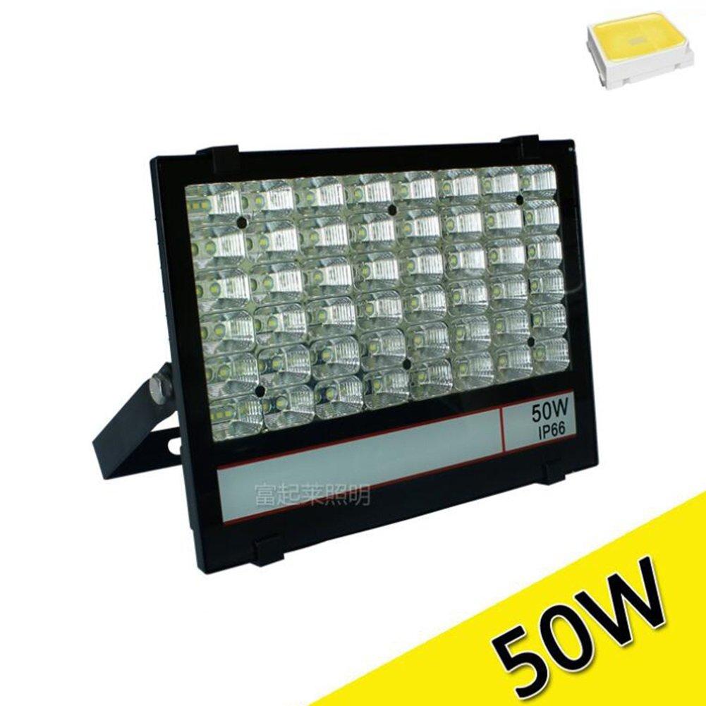 30WのLEDの投光照明、60度広いビーム角度IP65防水屋外洪水セキュリティ屋外照明200pcs LEDと庭、日白6000K 220V (色 : 6000K (white), Wattage : 150W) 150W 6000K (white) B07D735QS1