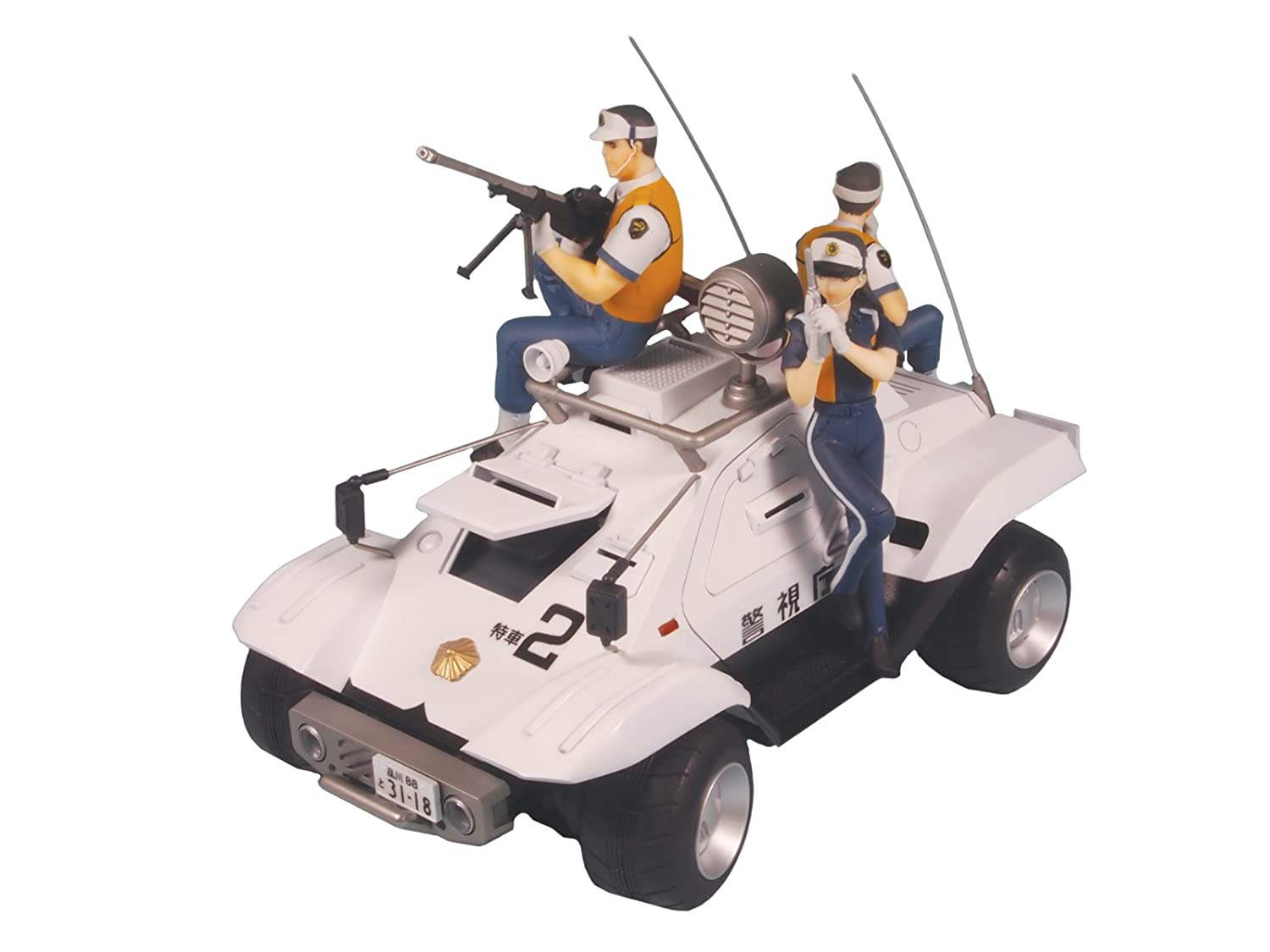 by Pit road by Pit lord Painted Complete 1//24 Mobile Police Patlabor the Movie Type 98 Special Control Vehicle PD07