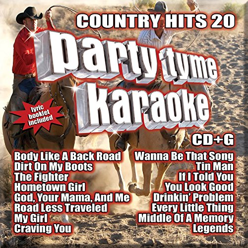 Party Tyme Karaoke - Country Hits 20 [16-song CD+G]