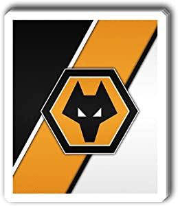 msgolbi 3 PCs Stickers Wolverhampton Wanderers Sticker for Laptop, Phone, Cars, Decal Vinyl Funny Stickers for Computers, Bumpers, Hydro Flasks, Water Bottles, Case