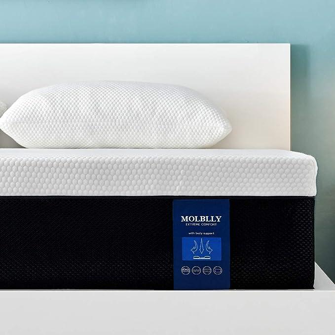Molblly Double Mattress - Best Gel-Foam Mattress