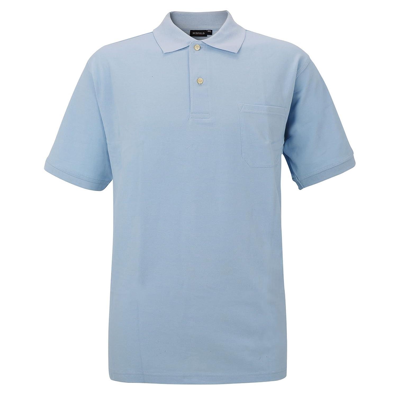 Redfield - Polo - Uni - Manches Courtes - Homme  Amazon.fr  Vêtements et  accessoires 186be0f2a208