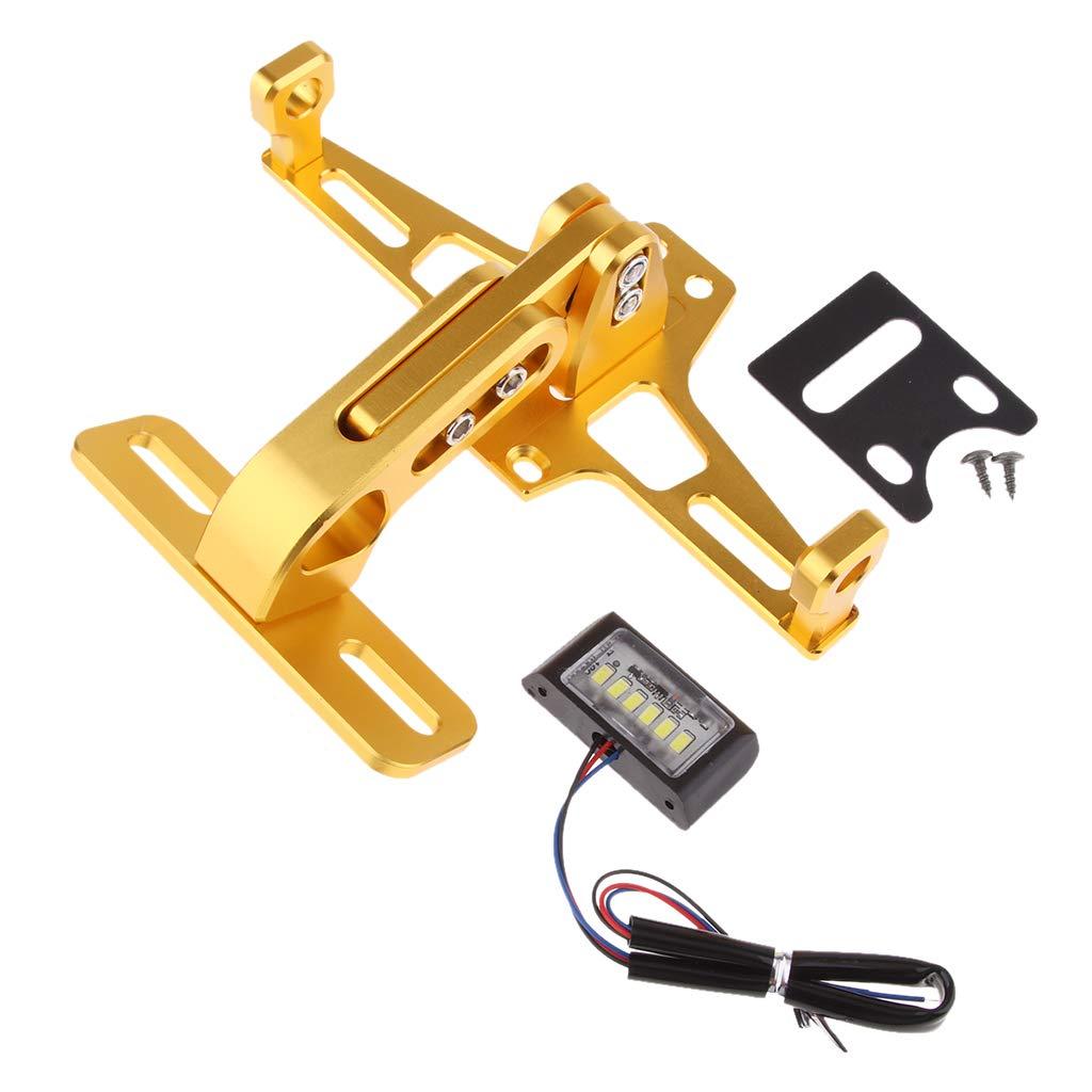 sourcingmap Universal Metal Adjustable License Number Plate Bracket Frame