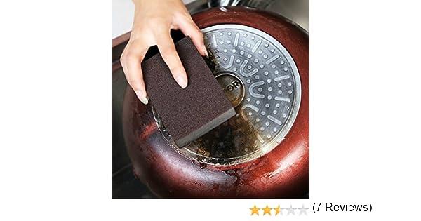 Esponja limpiadora de limpieza Nano Magic Eraser Elimina manchas rebeldes y Mark Cleaner sin quimicos: Amazon.es: Hogar