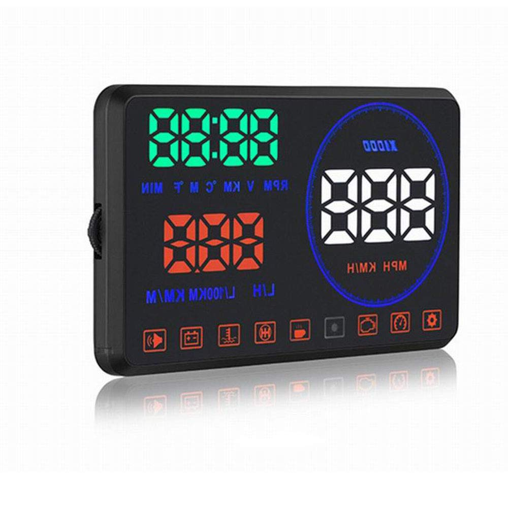 Amazon.com: CARWORD Hud OBD2 Head Up Display Car Speed ...