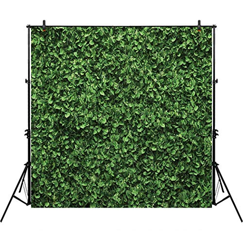 Allenjoy 8x8ft Green Floral Leaves Backdrop for Photo Studio Photography Still Life Grass Leaf Floordrop pictures Background Summer Spring Party home Decor Outdoorsy Theme Shoot Props Drop ()