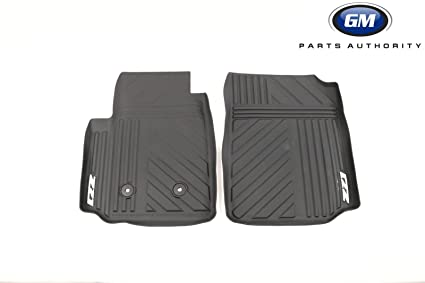 5cee367820 Image Unavailable. Image not available for. Color  GMC OEM New Front All  Weather Premium Floor Mats ...