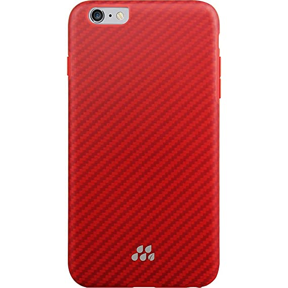 huge selection of ef6da 513fe multifun Evutec Apple iPhone 6/6S Plus Karbon SI Series, Brigandine – Red