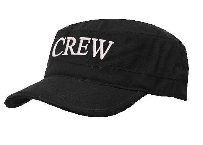 morefaz - Gorra de béisbol - para hombre Crew black white talla ...