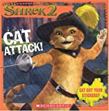 Shrek 2: Cat Attack! (8x8 Storybook W/ Stickers)