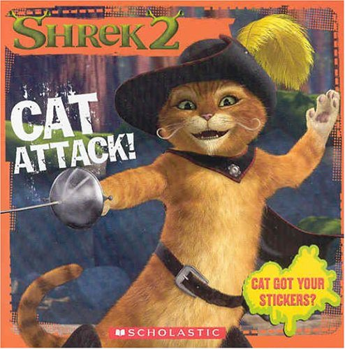 Download Shrek 2: Cat Attack! (8x8 Storybook W/ Stickers) pdf epub