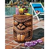 Tropical Hawaiian Island Tiki Sculpture Table