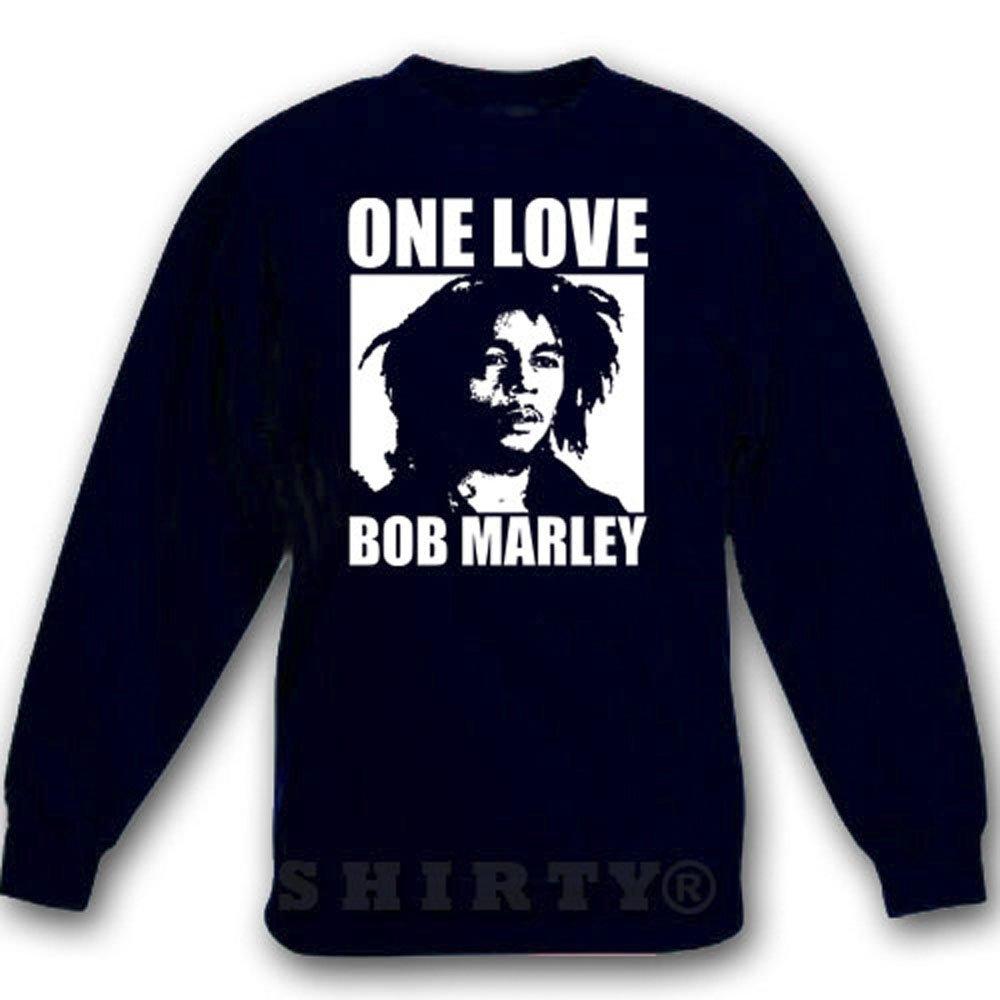 Bob Marley 3 - Sweat - Shirt - schwarz - S bis 5XL - 1098