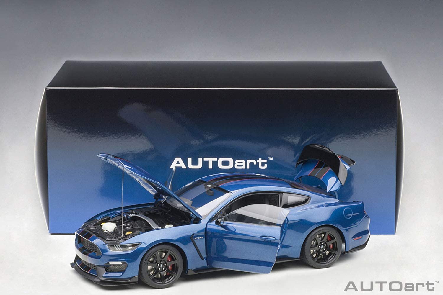 Autoart Ford Mustang Shelby gt350r LIGHTNING BLUE 1:18 72933
