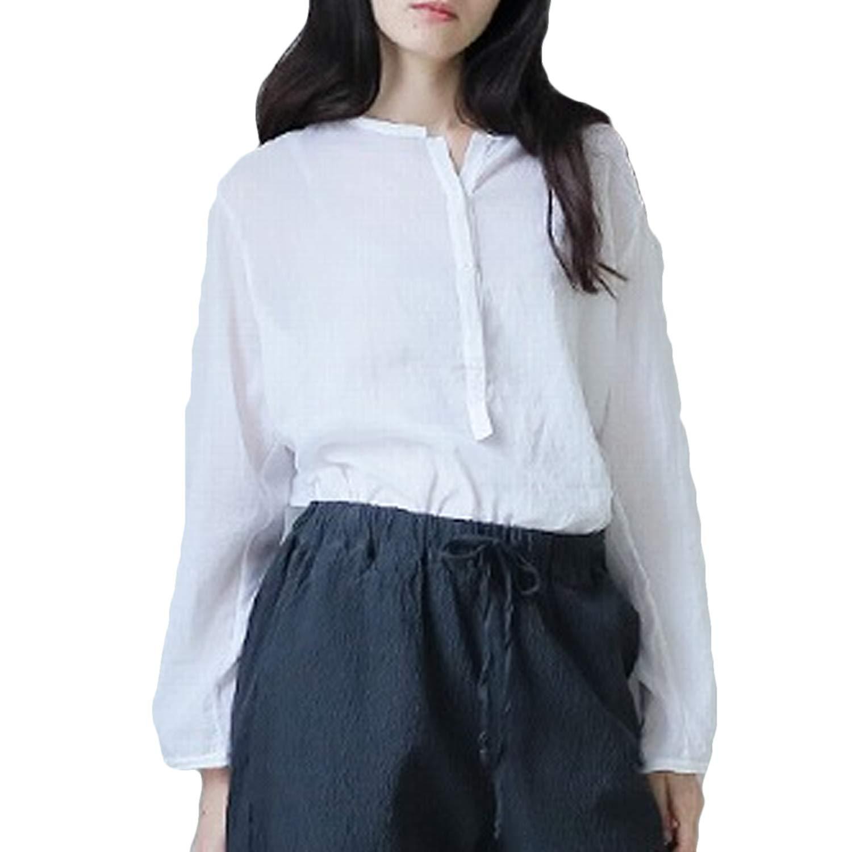 Kristensen du Nord Womens Cotton Voile Top White 0, 1, 2