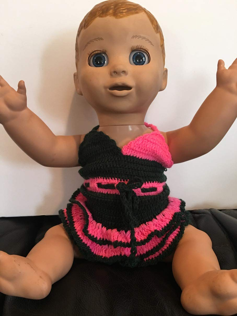 Fits Luvabella Doll Clothes Crocheted Casual Dress Costume Handmade Clothes Only NO DOLL