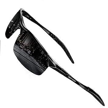 Amazon.com: Gafas de sol polarizadas para hombre, protección ...