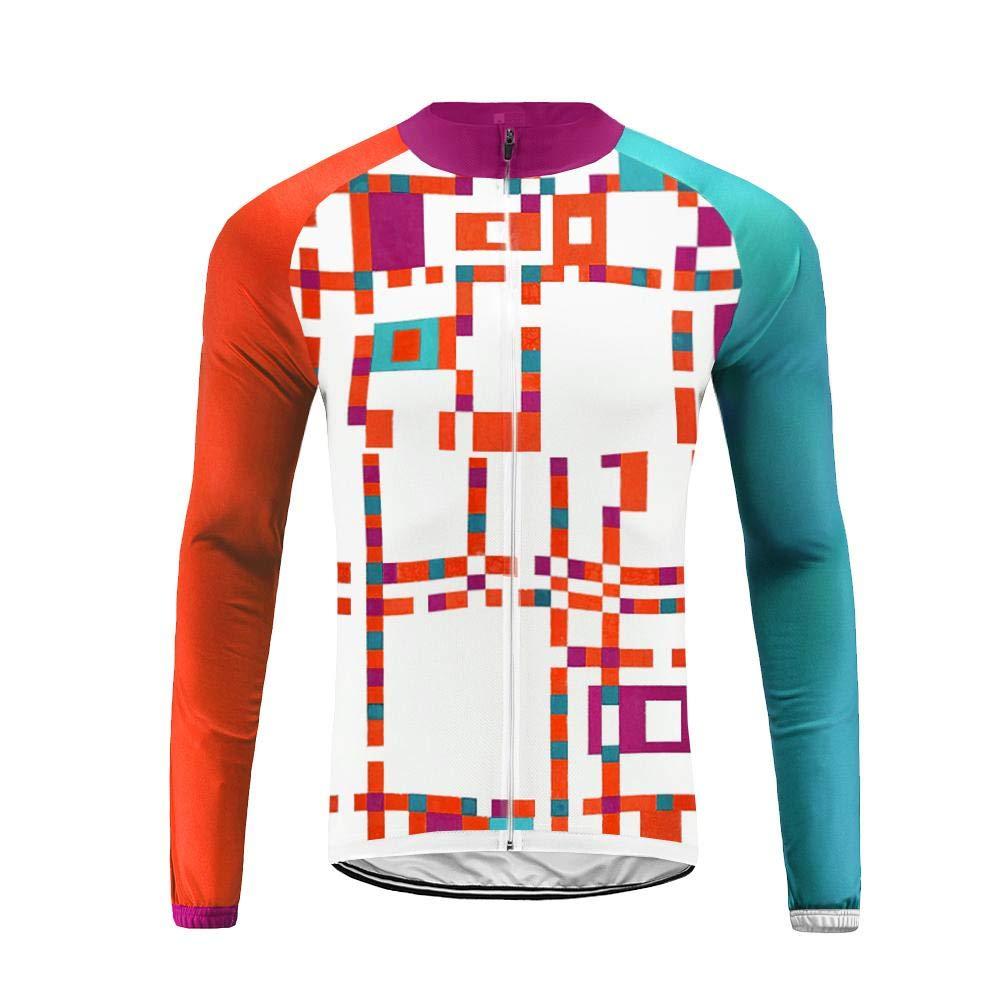 Uglyfrog Radtrikot Fahrradbekleidung Set Langarm Winddicht Herren Thermische Fleece mit 3D Polster Hosen/Fahrrad Langarmtrikot/Fahrradweste