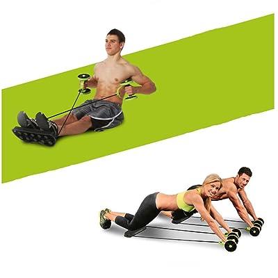équipement d'exercice pour Home Gym, multifonction minceur et appareil de soins de santé, fitness Roue Roue Mute Corde, abdominale Muscle de roue