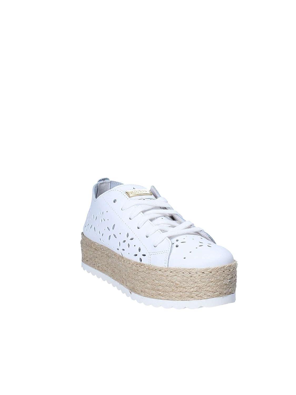 Guess Scarpe Donna Sneaker Corda Marley in Pelle Forata