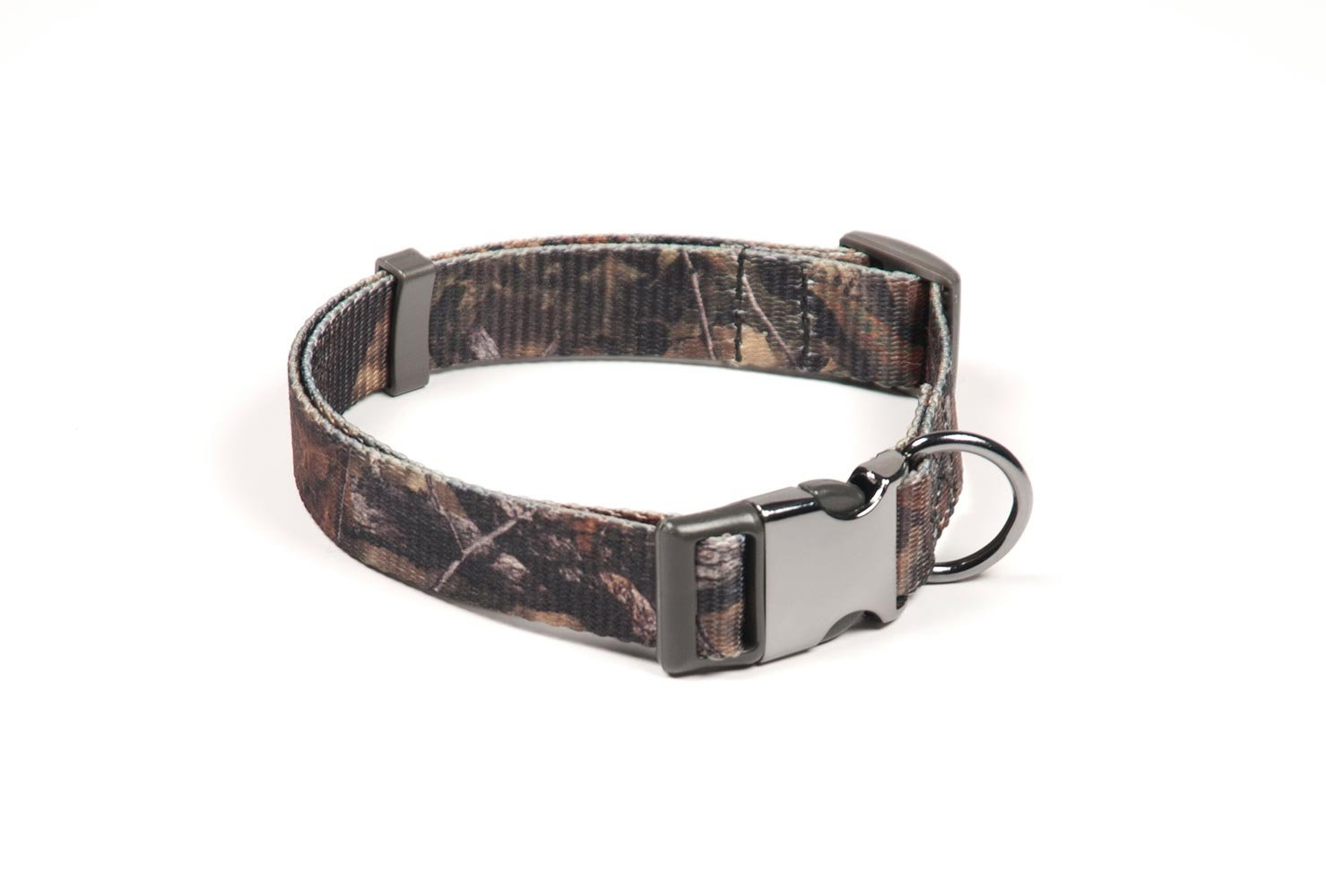 Pet Champion Hunting No Pull Extra Durable Adjustable Dog Collar, Mossy Oak Camo, Large/Extra Large 1in x 16-26in