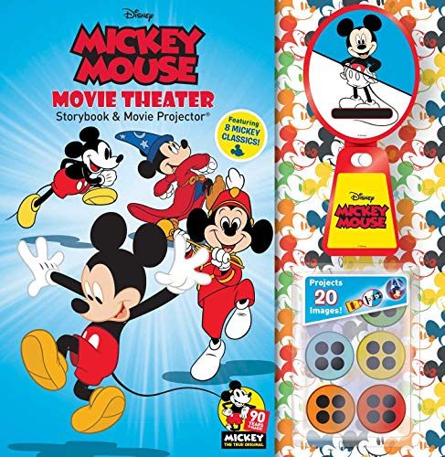 Disney Mickey Mouse 90th Anniversary Storybook & Movie Projector (Movie Theater ()