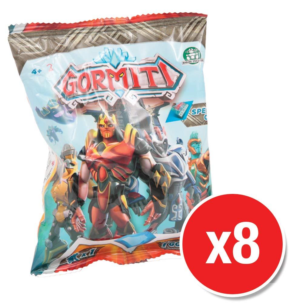 Gormiti GRM00220 Mini Figures Wave 1 8 Packs Supplied
