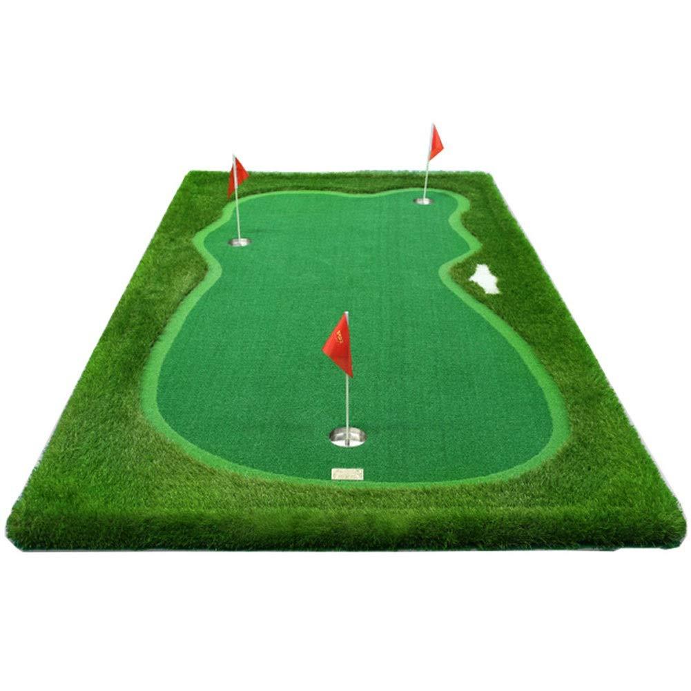 ゴルフパッティングマット、ゴルフ屋内パッティンググリーン、調節可能なスロープ屋外ゴルフシミュレータトレーニングマットエイド機器 (Color : 2#, Size : 2m*4m) 2# 2m*4m
