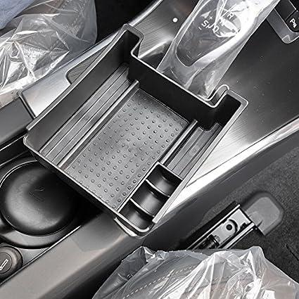 Vesul Armrest Secondary Storage Box Glove Pallet Center Console Tray Organizer Fits on Volvo XC60 V60 S60 2009 2010 2011 2012 2013 2014 2015 2016 2017//V60 S60 2018
