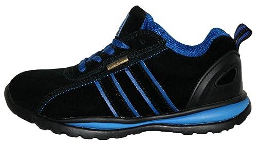 Ottawa - Zapatos de seguridad para mujer, acero en la punta de los dedos, con cordones, ligeras: Amazon.es: Zapatos y complementos