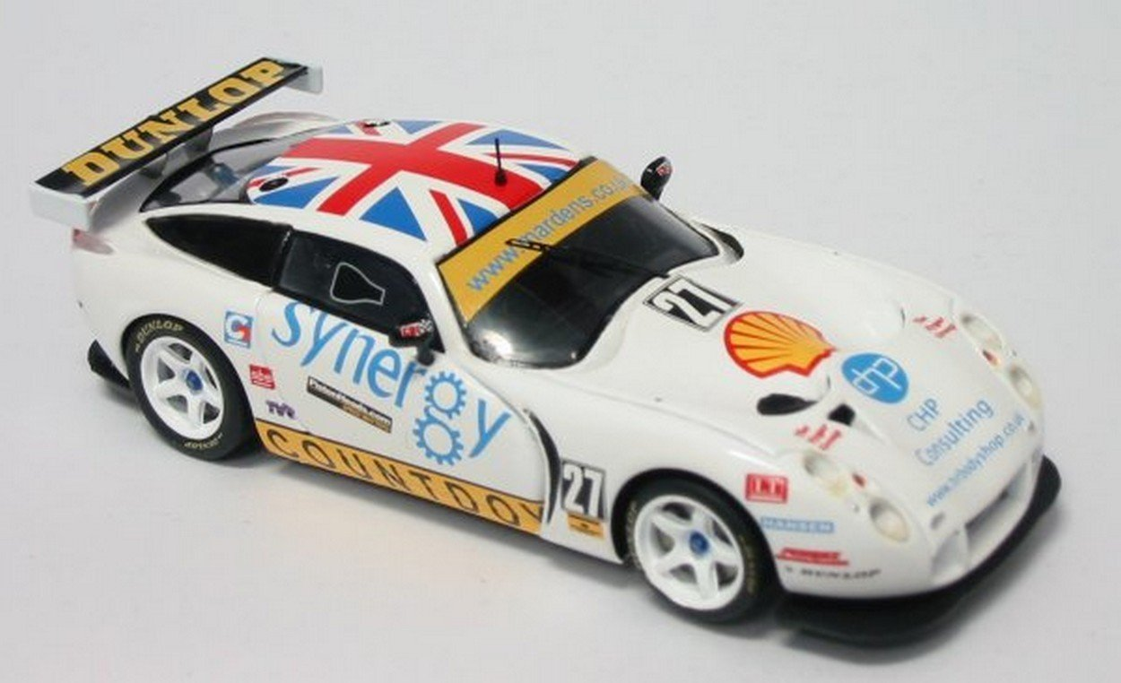 SPARK MODEL SCTR04 TVR T 400 R N.27 BRITISH BRITISH BRITISH GT03 1:43 MODELLINO DIE CAST MODEL 36d2df
