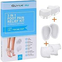 6-Piece Guyue Hu 3-In-1 Premium Metatarsal Foot Cushions