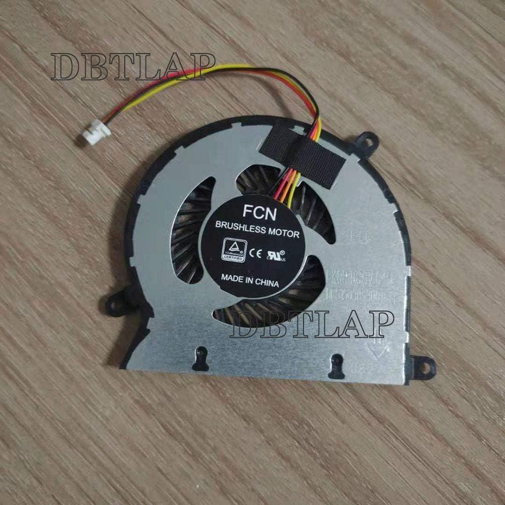 DBTLAP Laptop CPU Cooling Fan for MECHREVO S1 Pro DFS1503059U0T FK0P DC5V 0.45A CPU Cooler