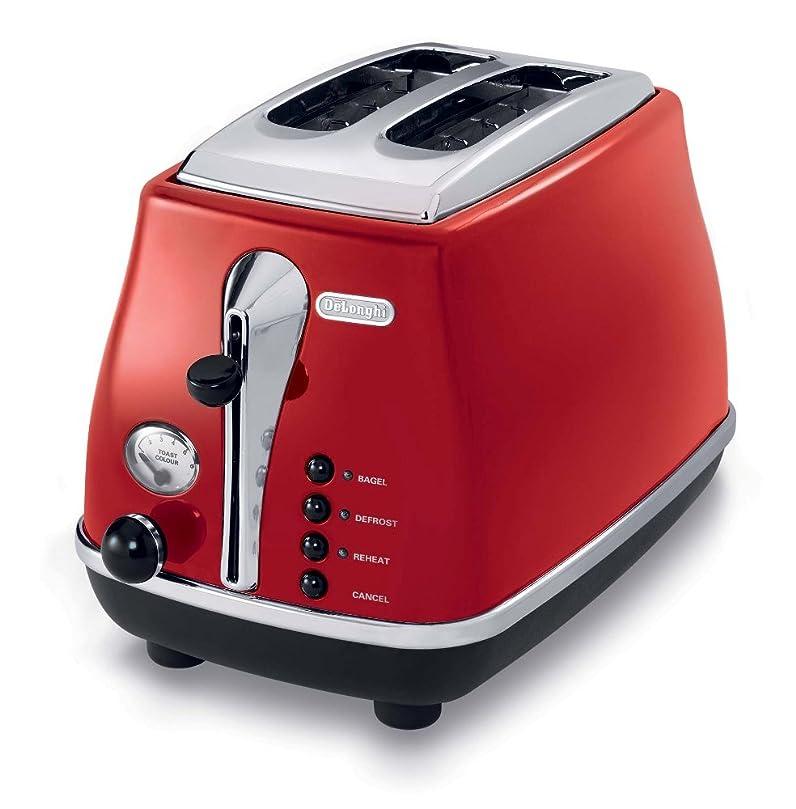 DeLonghi CTO2003R Icona Collection 2 Slice Toaster, Red: Amazon.ca ...