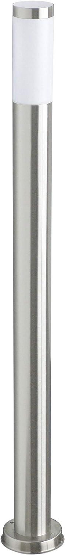 Ranex RX 1010-110 - Poste de jardín, acero inoxidable y plástico satinado