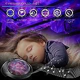 SOAIY Aurora Night Light Projector and Sleeping