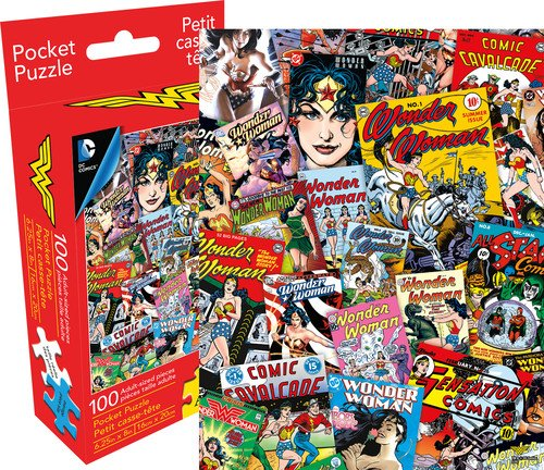 Aquarius DC Comics Wonder Woman 100 Piece Adult Pocket Jigsaw Puzzle